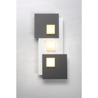 Bopp PIXEL Plafoniera LED Bianco, 3-Luci