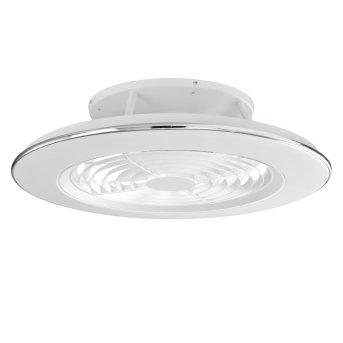 ventilatore da soffitto Mantra ALISIO LED Bianco, 1-Luce, Telecomando