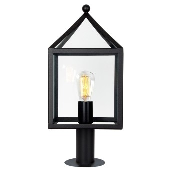 KS Verlichting Bloemendaal Lampada con piedistallo Nero, 1-Luce
