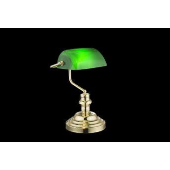 Globo Lampada da tavolo Verde, 1-Luce