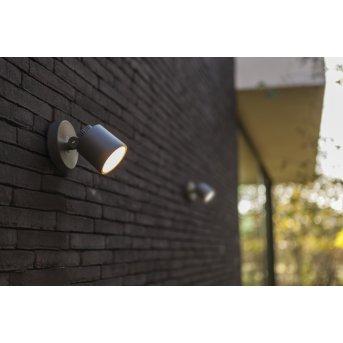Lutec Explorer Applique da esterno LED Antracite, 1-Luce