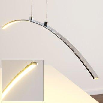 Leuchten-Direkt Lampada a sospensione LED Cromo, 1-Luce