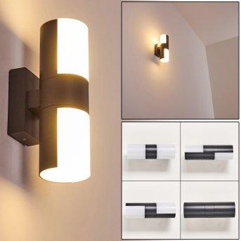Applique da esterno Baulund LED Antracite, 1-Luce
