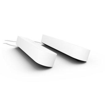 Philips Hue Ambiance White & Color Play Lightbar Set di base doppio LED Nero, Bianco, 2-Luci, Cambia colore