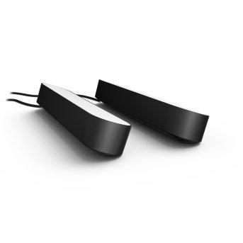 Philips Hue Ambiance White & Color Play Lightbar Set di base doppio LED Nero, 2-Luci, Cambia colore
