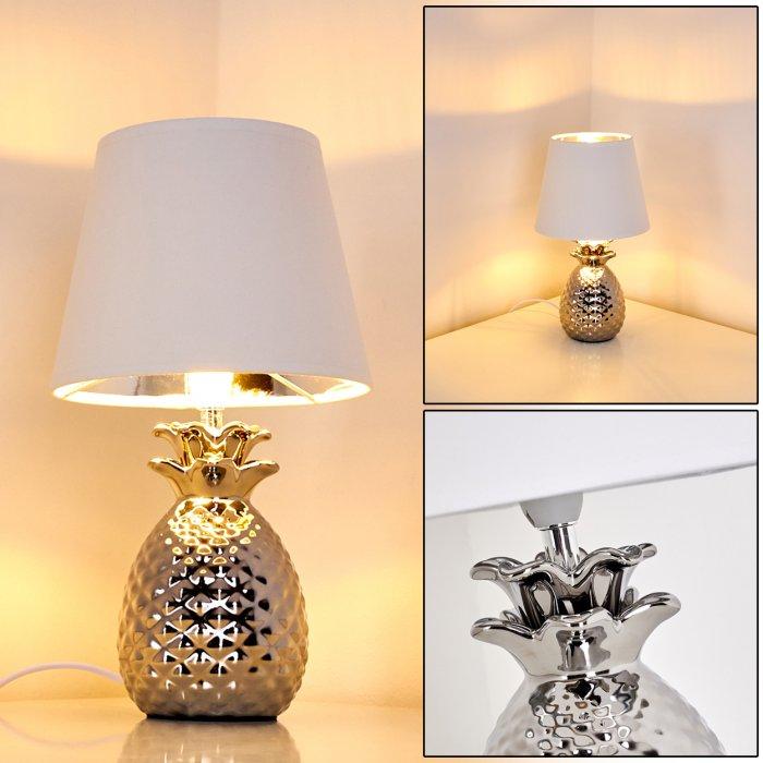 Pina Lampada Da Tavolo Bianco H3283868 Do1 Lampada It