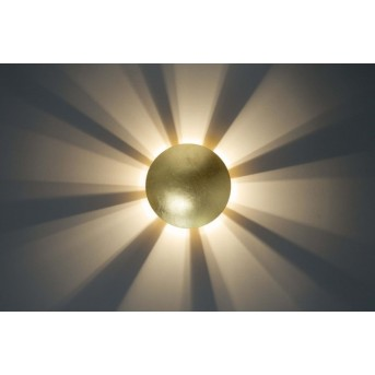 Brilliant Sunset Applique Oro, 1-Luce