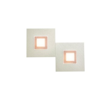Grossmann Karree Applique LED Ramato, 2-Luci