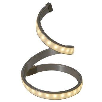 Näve LoopLine Lampada da Tavolo LED Acciaio inox, 1-Luce