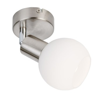 Applique Nino Leuchten LOXY LED Nichel opaco, 1-Luce