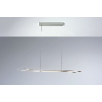 Bopp Flow Lampada a Sospensione LED Alluminio, 1-Luce