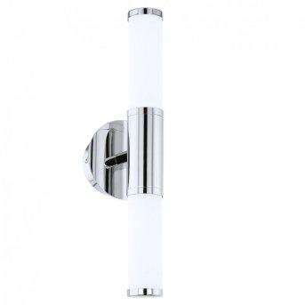 Eglo PALMERA 1 Applique e lampada da specchio LED Cromo, 2-Luci