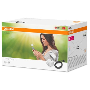 OSRAM SMART+ Presa elettrica Bianco