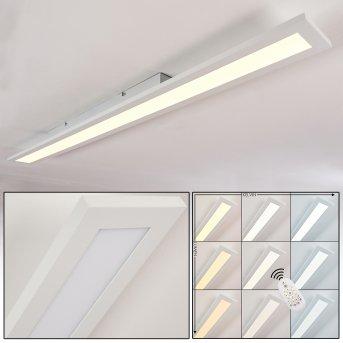 Ailik Plafoniera LED Bianco, 1-Luce, Telecomando