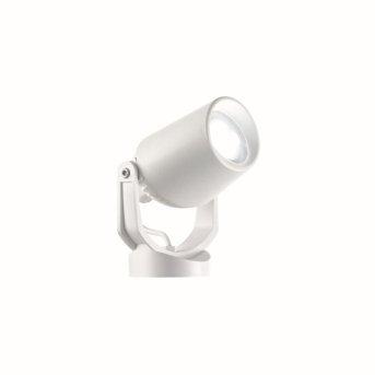 Ideal Lux MINITOMMY Faretto da giardino Bianco, 1-Luce
