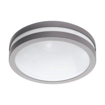 Eglo connect LOCANA Plafoniera LED Argento, 1-Luce