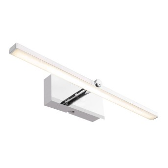 Applique Globo MARBELLA LED Cromo, 1-Luce