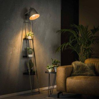 LISSE Lampada per scaffale a muro Nero, Grigio, 1-Luce