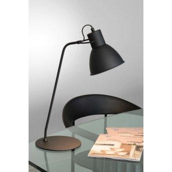 Lucide SHADI Lampada da tavolo Nero, 1-Luce