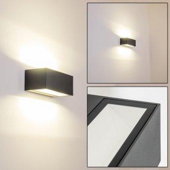 GEMINI Applique da Esterno LED Antracite, 1-Luce