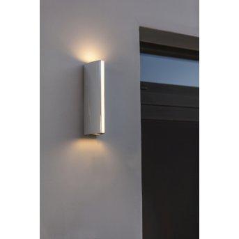 Lutec Leo Applique da esterno LED Cromo, 1-Luce