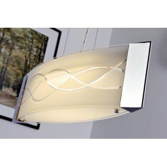 Datong Lampada a sospensione LED Cromo, Alluminio, 1-Luce