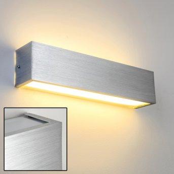 Olbia Applique LED Alluminio, 1-Luce