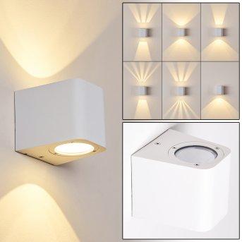 Maputo Applique da esterno LED Bianco, 2-Luci