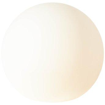 Brilliant Garden Lampada a sfera Bianco, 1-Luce