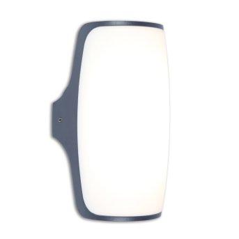 Lutec SECO Applique da esterno LED Antracite, 1-Luce