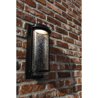 Lutec Aquarius Applique da esterno LED Nero, 1-Luce