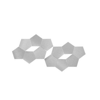 Grossmann Linde Applique LED Alluminio, 3-Luci