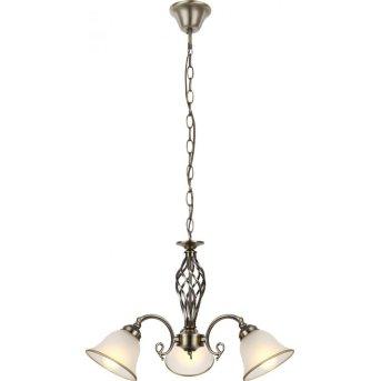 Globo Lampadari a corona Bianco, 3-Luci