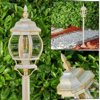Lentua Lampada da terra per esterno Oro, 1-Luce