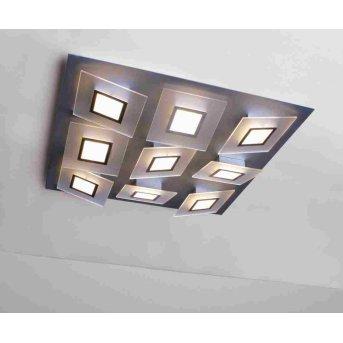 Bopp FRAME Plafoniera LED Alluminio, 9-Luci