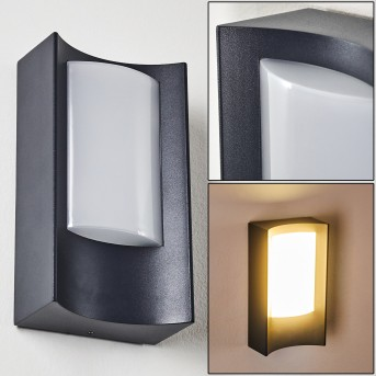 Applique da esterno Nordkapp LED Antracite, 1-Luce