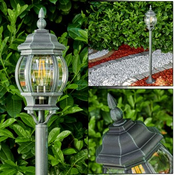 Lentua Lampada da terra per esterno Nero, Verde, 1-Luce