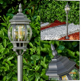 Lentua Lampada da terra per esterno Nero, 1-Luce