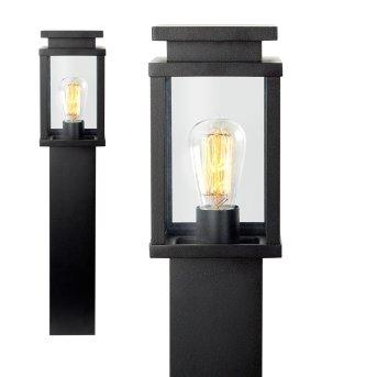 KS Verlichting Jersey Lampioncino Segnapasso Nero, 1-Luce