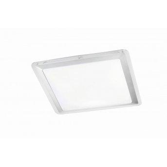 Leuchten-Direkt LABOL Plafoniera LED Acciaio inox, 1-Luce