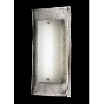 Fischer Shine Alu Applique LED Nichel opaco, Ruggine, 1-Luce