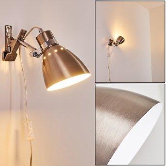 Stranderott Lampada con pinza Acciaio inox, 1-Luce