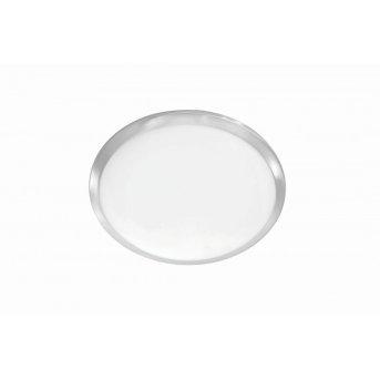 Leuchten-Direkt SATOB Plafoniera LED Acciaio inox, 1-Luce