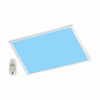 Eglo SALOBRENA-C Lampada a pannello LED Bianco, 1-Luce, Telecomando, Cambia colore