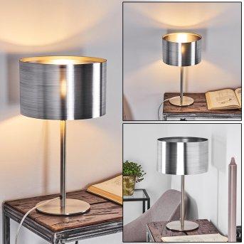 Volos Lampada da tavolo Nichel opaco, 1-Luce