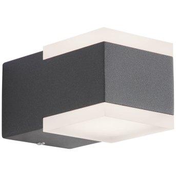 AEG Amity Applique da esterno LED Antracite, 2-Luci