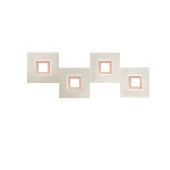 Grossmann Karree Applique LED Ramato, 4-Luci