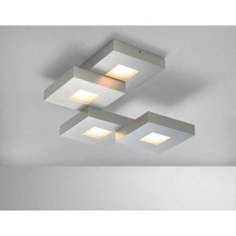 Bopp CUBUS Plafoniera LED Alluminio, 4-Luci