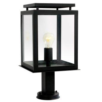KS Verlichting De Vecht Lampada con piedistallo Nero, 1-Luce