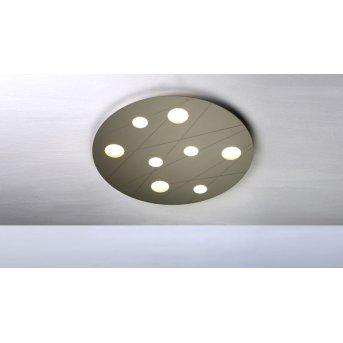 Bopp GRAFICO Plafoniera LED Beige, 8-Luci